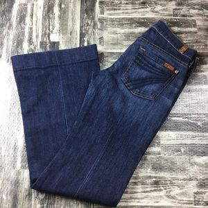 Seven For All Mankind  7 Dojo Jeans Size 25 Pants